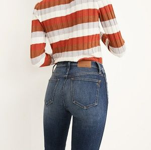 Madewell Slim Straight High Rise Jeans